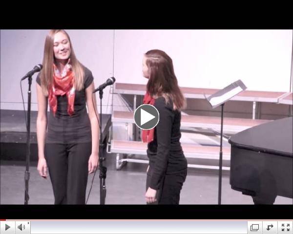 Winter Choir Concert Duet
