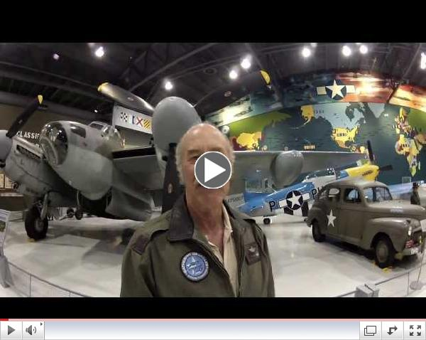 Kermie Cam - DeHavilland Mosquito Tour - Part 1