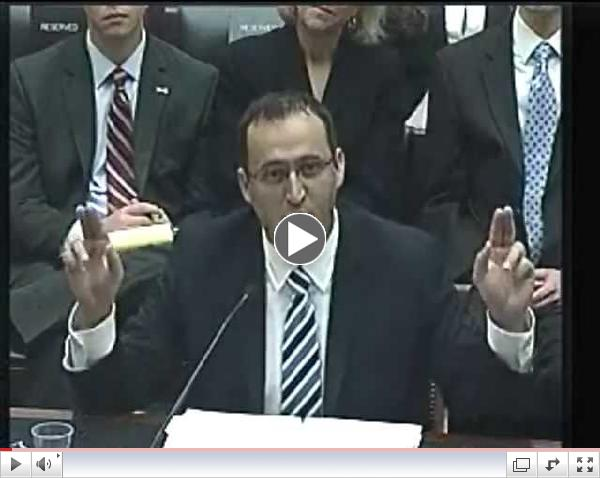 Harry Mihet Depune Marturie la Congresul USA