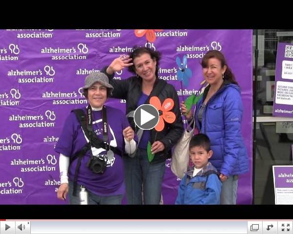 Why I Walk Compilation 1 - SanFrancisco Walk to End Alzheimer's