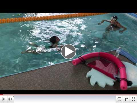 Saige Weston Doing Freestyle at Age 3!