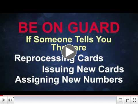 New Medicare Numbers - Don't Get Scammed