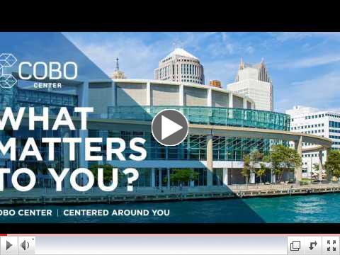 Cobo Center Events Bring Jobs
