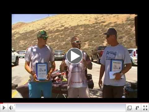 Daniel Thompson & Lawrence Parker Win Lake Pyramid June 23rd