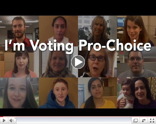 I'm Voting Pro-Choice