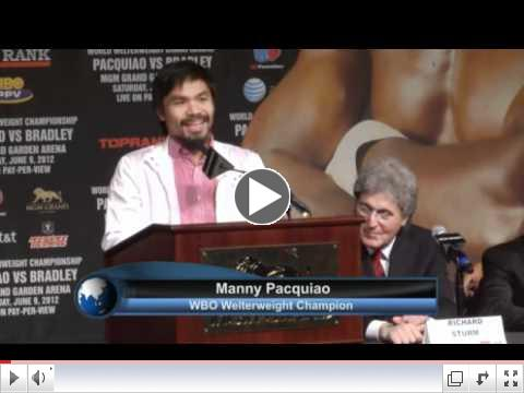Pacquiao and Bradley are ready to go, hear what they have to say before the big fight.