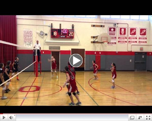 Herrick vs ONeill Volleyball October 2014