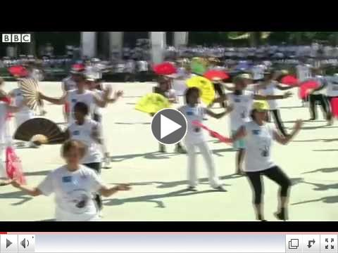BBC News - Chinese martial art in Latin America 2013