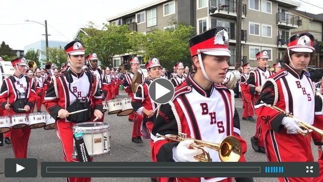 Ballard Marching Band | Syttende Mai | May 17, 2017