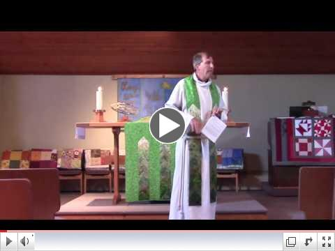 Pr. Steve's Sermon: Jesus is Messing with Us