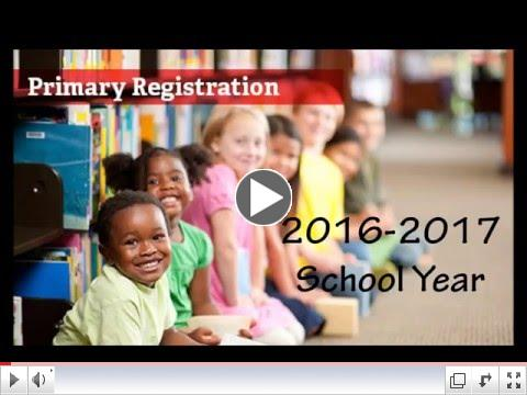 2016-17 Primary Registration