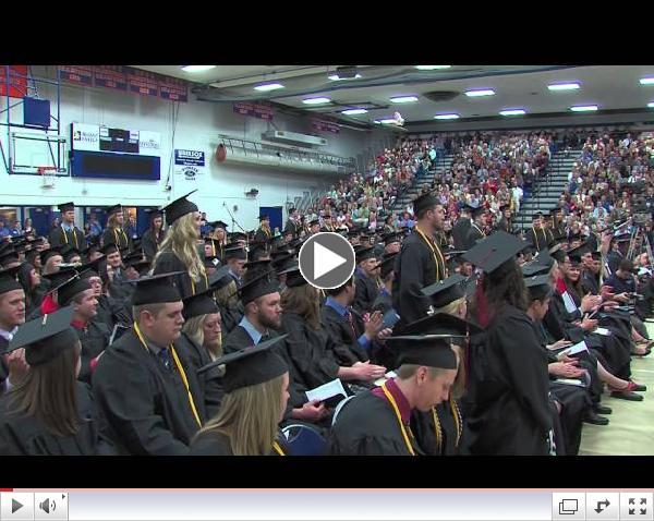 UW-Platteville Spring Commencement 2014