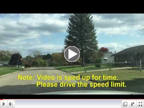 Video-Medill Bus Drop Off Procedure