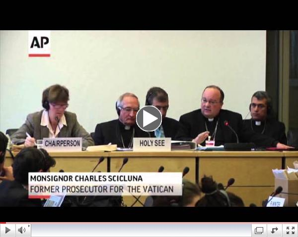 Church Criticized for Child Abuse at UN Hearing
