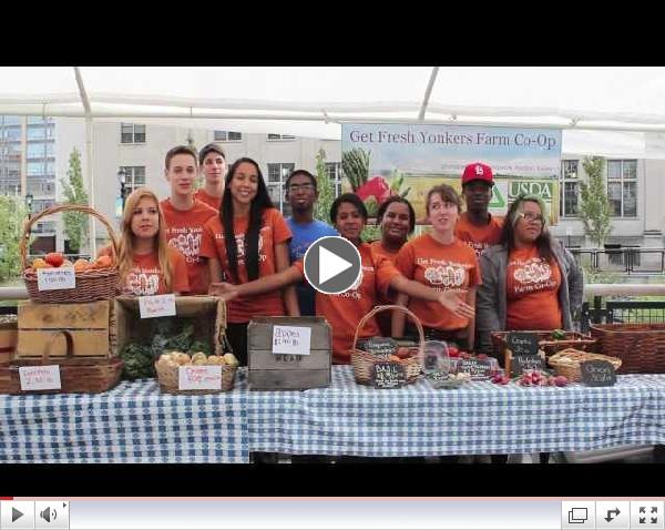 Groundwork Hudson Valley -  Get Fresh Yonkers Farm Co-Op by Farm Team member Jeleah Millington