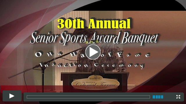 Senior Sports Awards 2013