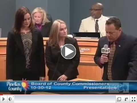 Pinellas County Recognizes Global Entrepreneurship Week 2012