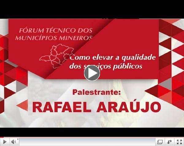 Fórum Técnico dos Municípios Mineiros - Rafael Araújo