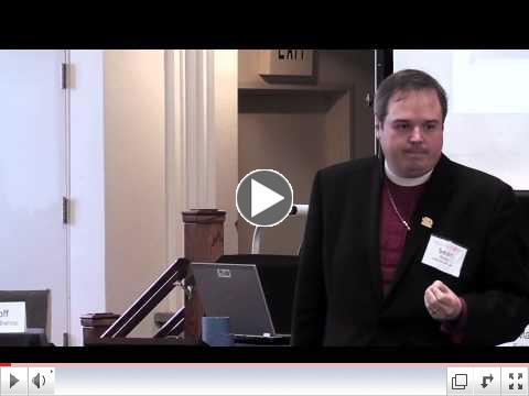 Bishop Sean Rowe's plenary session. Part One