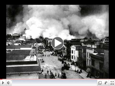 San Francisco 1906 Earthquake - Before and After