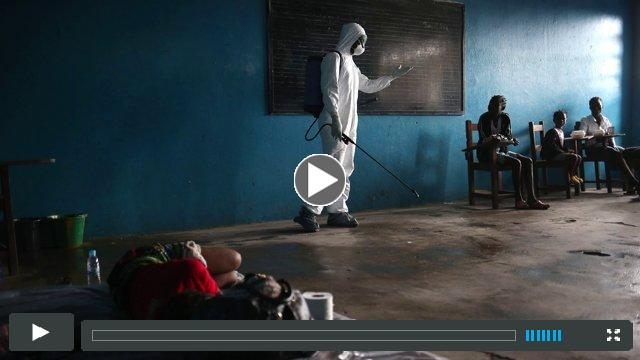John Moore on Ebola in Monrovia for 'About A Photograph'