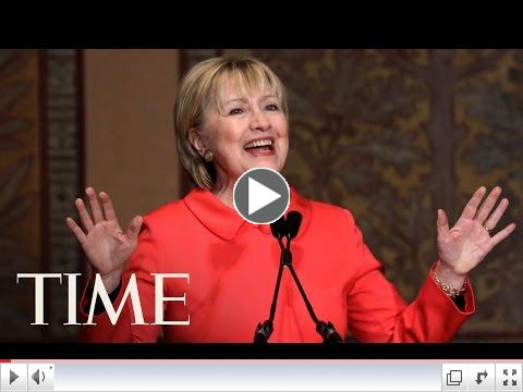 Hillary Clinton Warns President Trump Of 'Grave Mistake' On Foreign Aid | TIME