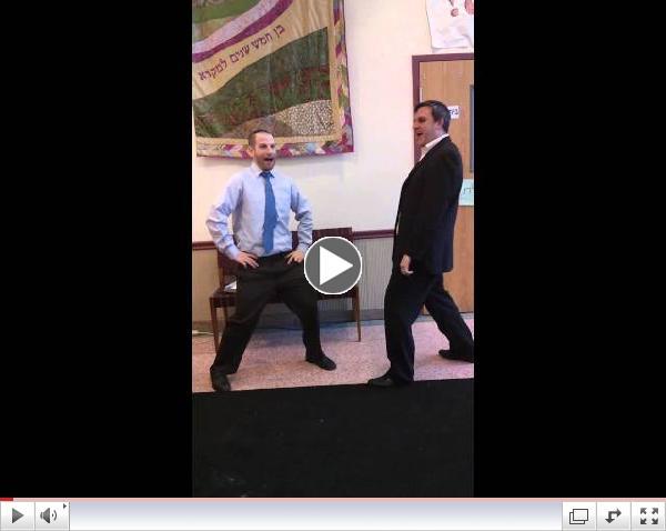 שבוע עברית - עם הרב ויינברג ודני קראוט
