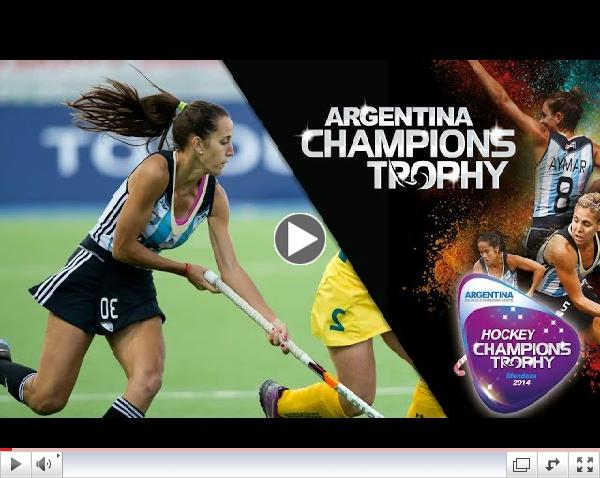 Australia vs Argentina - Women's Hockey Champions Trophy 2014 Argentina Final [07/12/2014]