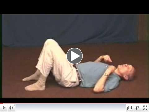 The Pelvic Rock exercise from the Body Aliveness Series