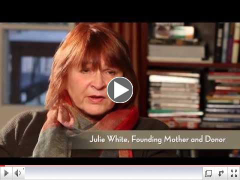 Julie White on starting the Foundation.