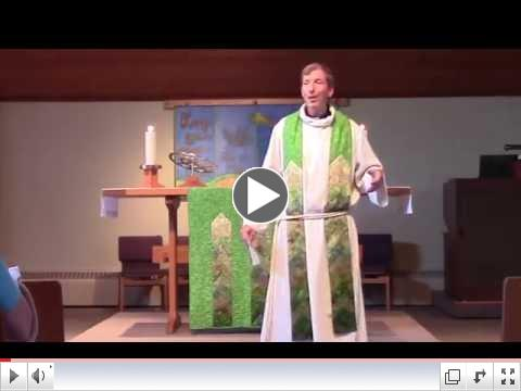 Pr. Steve's Sermon: