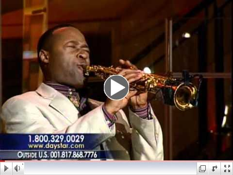 Saxophonist Merlon Devine Plays ARISE on Daystar TV
