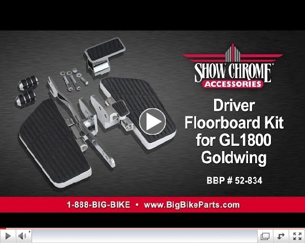 Driver Floorboard Kit for GL1800 Goldwing