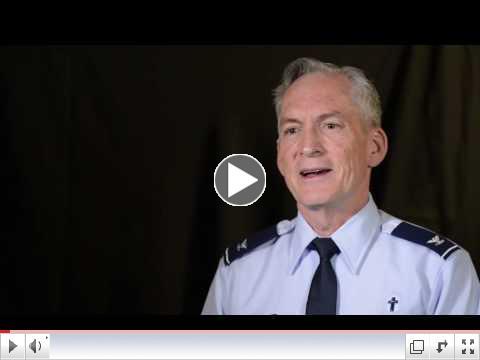 US Air Force Chaplain & NM Conference Member, Pat McCain