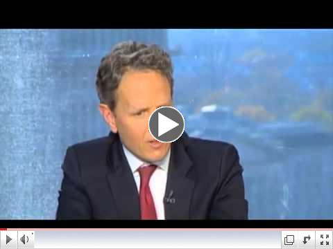 Secretary Geithner: Lift Debt Limit to Infinity