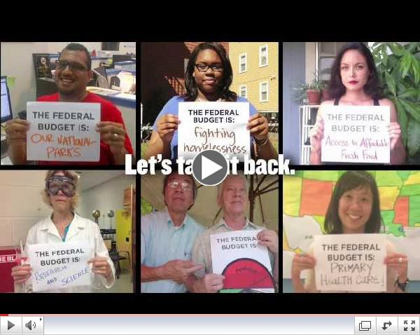 Be the Change: Take Back the Federal Budget