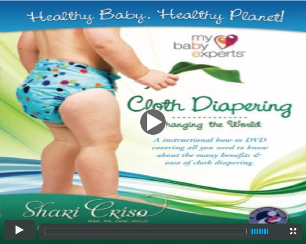 Cloth Diapering DVD Trailer