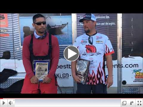 Rich Hale & Shane Soriano Win the Lake Don Pedro event, 2/17/18 with 26.13 lbs and BF 10.85 lbs.