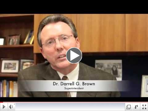 Dr. Brown's Spring Break Message