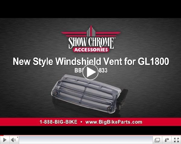 New Style Windshield Vent for GL1800 Goldwing