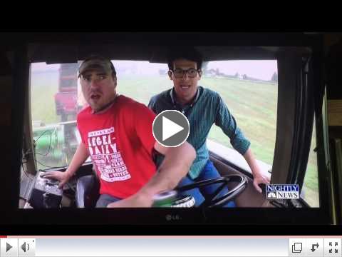 Hansen's Dairy on NBC Nightly News