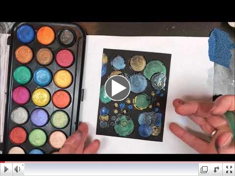 Pearlescent Watercolors, Part Two