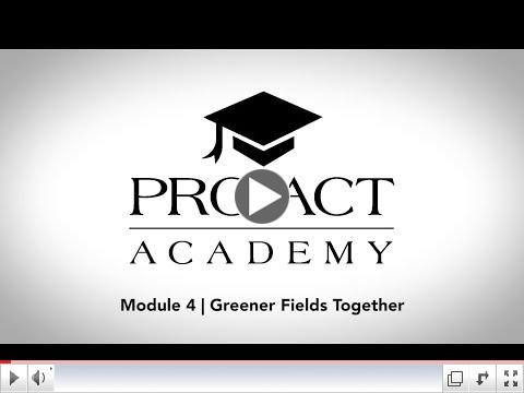 PRO*ACT Academy:  Greener Fields Together