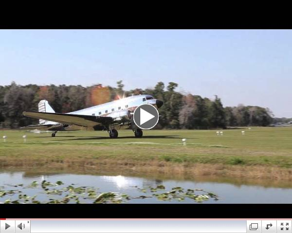 A magnificently restored DC-3 visits Fantasy of Flight