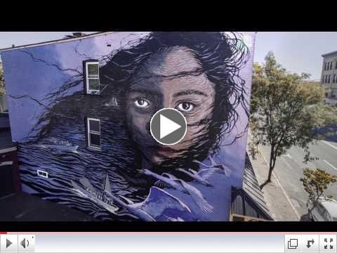 O+ Festival Murals 2016: JESS X SNOW -