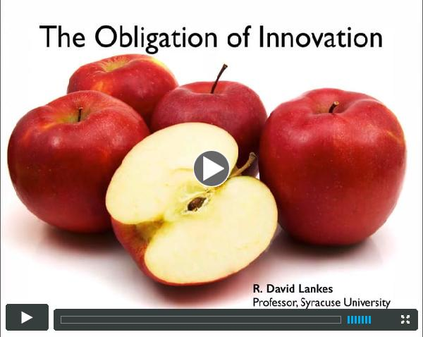 The Obligation of Innovation
