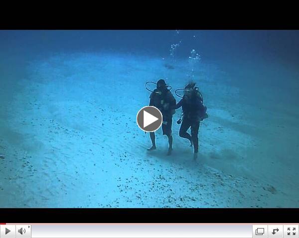 Amanda & Orlando, Yucab Reef at 60 Feet Down
