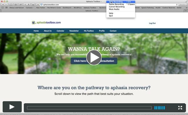 aphasiatoobox® introductory tour