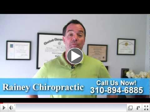Dr. Rainey: Culver City Chiropractor