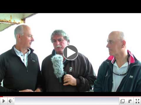 Dragon Edinburgh Cup 2016 - Day 3 - Martin Payne Interviews Simon Barter and Race Winner Neil Hegarty